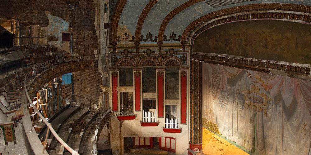 The Lyric Stage Pre Restoration